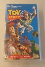 Walt Disney Classics Original VHS Tape TOY STORY 1995 woody buzz Mr Potato head