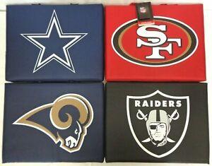 NFL Bleacher Cushion Travel Seat