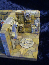 Wall and Floor Embelishment Set Cimi Thomarillion Unpainted Pewter Dwarven Forge