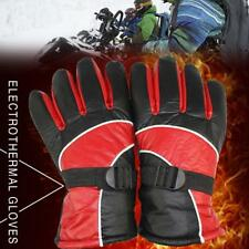 48V Electric Heating Gloves E-scooter Motorcycle Cycling Warm Skiing Gloves