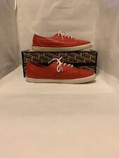 Vans CA (California) Era Brogue CA Red Leather Size 10 Used