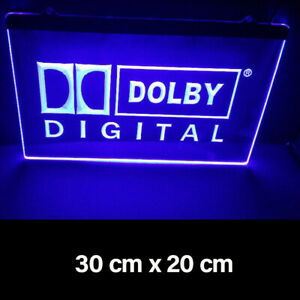 New Dolby Digi Home Cafe Bar Man Cave Decor Led Neon Light Gift Advertise