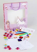 New The Sweetest Thing Stamp Art Set with Marker Inkpads Stamps and more in Box