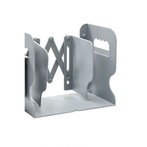 Adjustable Bookend Retractable Book Stand Organizer Holder Wrought Book Shelf
