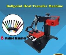 6 Pcs Digital Pen Heat Press Machine for Pen Heat Transfer Printing