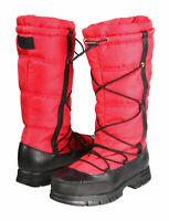 Lauren Ralph Lauren SZ 9.5 Women's Waterproof QUINLY Leather/Nylon Boots New