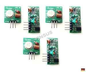3 x 433 Mhz Sender Empfänger Funk RF Receiver Modul Arduino Raspberry Pi