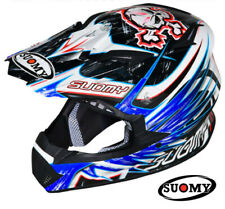 Motorcycle Helmet Cross SUOMY Rumble Eclipse Blue S Off Road Casque Motard