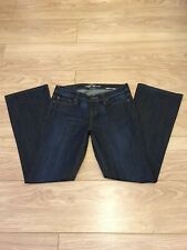 All Saints Sadie Fit Rhomer Blue Fade Jeans Low Rise Bootcut AW08 28 L29 8 10 UK