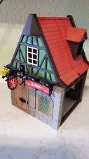 Playmobil 3440 Tailleur Fachwerkhaus Schneiderei Grün Ritterwelt Altstadt