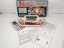 Very rare & Vintage Casio Karate Fight CG-610 game watch Japan