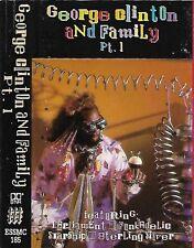 Various George Clinton & Family Pt. 1 CASSETTE ALBUM SOUL P.Funk inc. Interview