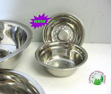 Mixing Bowls  Stainless Steel   Small 13.5cm SET 2 Pieces