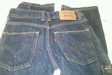 Boys Levis jeans 514 26X26 EUC dark size 12 regular