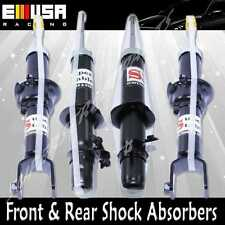 Front + Rear  Shock Absorbers for 92-95 Honda Civic  BLACK 4 PCS