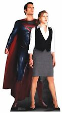 Superman & Lois Lane LIFESIZE PAPP FIGUR Aufsteller Standup Man Of Steel