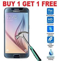 HD 9h Hard temper Glass Screen Protector for Samsung Galaxy S6 (PACK OF 2)