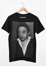 Serge Gainsbourg with a Shiner T Shirt (100% organic & sweatshop-free)