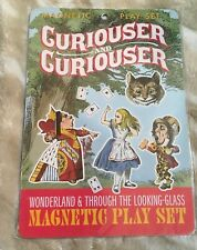 SEALED NEW Alice in Wonderland Curiouser & Curiouser Magnetic Play Set Booklet