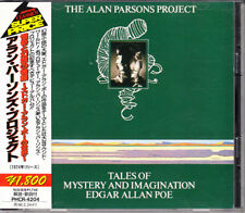 Alan Parsons Project Tales Of Mystery 1994 Japan CD Early Press W/Obi Very Rare