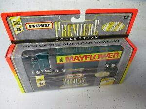 "Matchbox Premiere Rig Convoy Kenworth Box Truck ""Mayflower"", boxed"