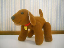 Madeline plush stuffed GENEVIEVE puppy dog jointed toy 2002 collar name tag