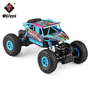 2.4G 1/18 Scale Rc Monster Brushed 4Wd Rc Truck Electric Wl Toys 18428-C 4Wd Roc