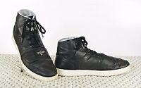 Creative Recreation Men's High Top Black Leather Cesario Lo Fashion Sneakers 13