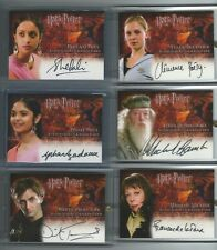 Harry Potter Goblet of Fire GOF Update AUTO autograph de la Tour Maxime