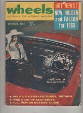 Wheels 1964 Nov Wagons Lightburn Zeta Falcon Holden Morris Minor Austin 1800 Van
