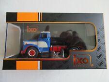 Miniature truck scania 110 super 1953 blue tro59 1/43 plexi box