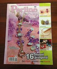 R25> Perline  n.47 - 16 nuovi progetti con schemi, istruzioni e step illustrati