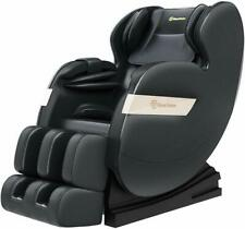 Real Relax Full Body Shiatsu Massage Chair Recliner ZERO GRAVITY Foot Roller