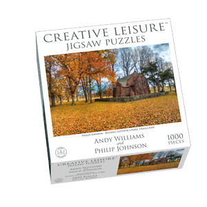 1000pc Puzzle Blessing Gostwyk Chapel Jigsaw Puzzle Philip Johnson