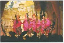 Disneyland Park Golden Horseshoe Revue Can-Can Girls Postcard circa 1980