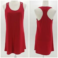 Laundry by Shelli Segal red sleeveless dress women's size Medium