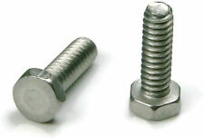 Stainless Steel Hex Trim Head Machine Screw #10-24 x 3/4