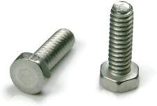 Stainless Steel Hex Trim Head Machine Screw #10-24 x 3/4