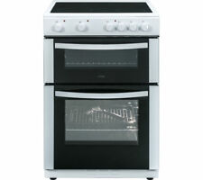 LOGIK LFTC60W16 60 cm Electric Ceramic Cooker - White - Currys