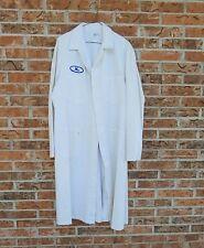 Vintage Mens Shop Coat 1940s American Mechanic Work Wear Cotton 44 Long