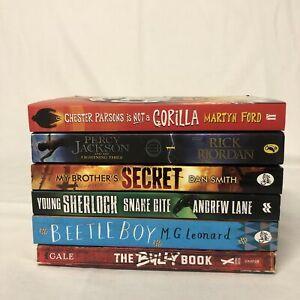 *BUNDLE* OF 6 BOOKS FOR BOYS (9-12 yrs) Books For Children