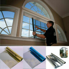 One Way Mirror Window Tint Film Home Tint 5x32.8ft Roll Heat Control UV Foils