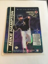2000 MLB Showdown--1st Edition--Mike Hampton--Foil--#195 Astros**Surface issue**