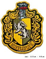 HARRY POTTER HUFFLEPUFF Embroidered Robe   IRON on SEW Patch LARGE