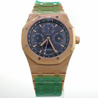 Audemars Piguet Royal Oak 18K Rose Gold Automatic Watch 26574OR.OO.1220OR.02