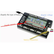 RC LCD Battery Capacity Voltage Checker Controller Tester for RC LiPo Battery x1