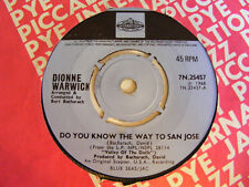 DIONNE WARWICK Do You KnowThe Way To San Jose   Pye UK 1968 7""