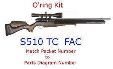 Air Arms O'ring Kit S510 TC FAC
