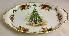 ROYAL ALBERT OLD COUNTRY ROSES CHRISTMAS MAGIC Regal Tray England