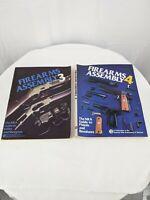 Firearms Assembly 3 & 4 NRA Pistol, Revolver, Rifle, & Shotgun lot of 2 books